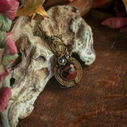 amulette œil de taureau