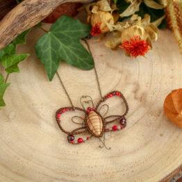 papillon zébrano