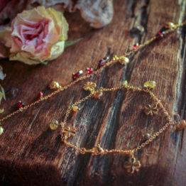 bracelet breloques coccinelles