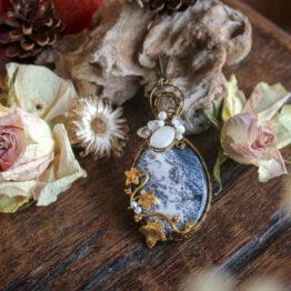 opale dendritique