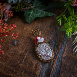 collier jaspe arbre