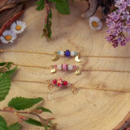 bracelet perles de verre filées