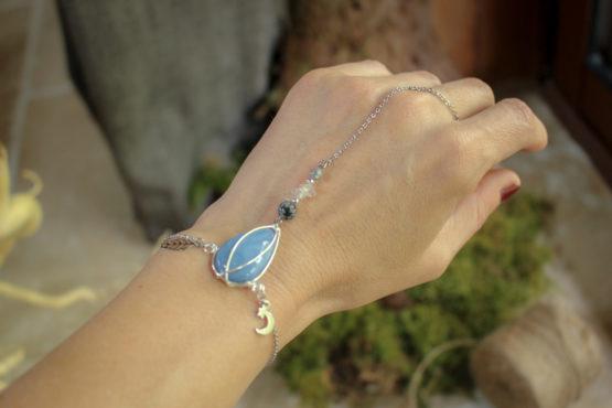 """Bracelet """"sorcière"""" - bijou de main"""