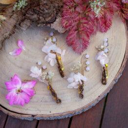 broches fleurs stabilisées