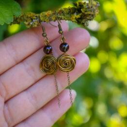 boucles petites roses