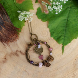 pendentif wire wrapping