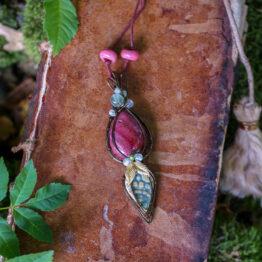 pendentif wicca jaspe