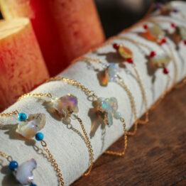 bracelet en opale welo